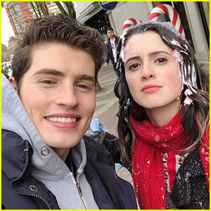 A Cinderella Story's Laura Marano & Gregg Sulkin Snap Cute Selfie Together