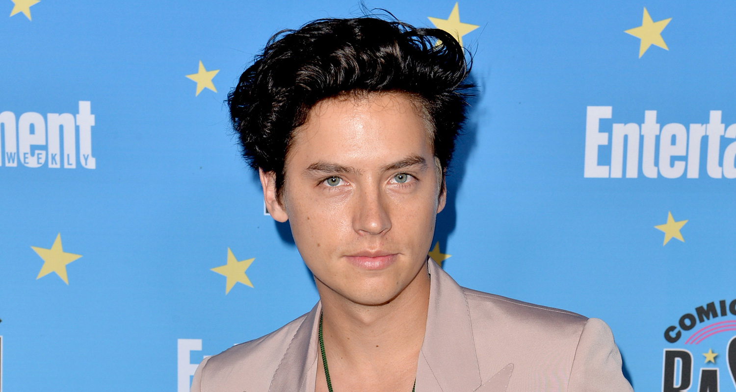 Cole Sprouse Laughs Off Rumors He Photoshops His Pictures