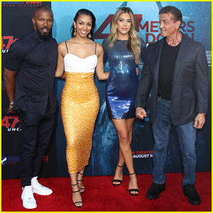 Corinne Foxx & Sistine Stallone Get Family Support at '47 Meters Down: Uncaged' Premiere