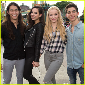 Dove Cameron & Her 'Descendants' Family Are Keeping In Touch More Since Cameron Boyce's Passing