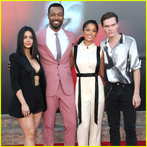 The 'Shadowhunters' Family Steps Out To Support Isaiah Mustafa at 'It Chapter Two' Premiere