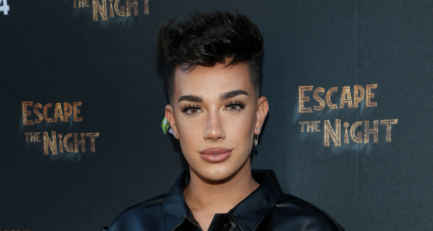James Charles Bleaches Hair, Goes Platinum Blonde