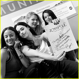 Jeanine Mason Starts Production on 'Roswell, New Mexico' Season 2!