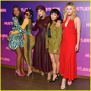 Lili Reinhart & Keke Palmer Join 'Hustlers' Co-Stars at Photo Call