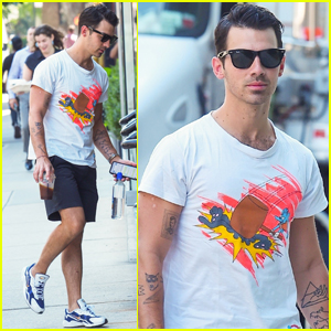 Joe Jonas Takes a Quick Break From 'Happiness Begins' Tour in NYC