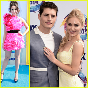 Laura Marano's Bright Pink Dress Will Blind You at Teen Choice Awards 2019