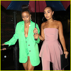 Leigh-Anne Pinnock Joins Sister Sairah For Duo Anniversary Party