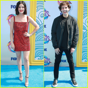 Lucy Hale & David Dobrik Step Out For Teen Choice Awards Ahead of Hosting Duties