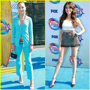 Web Star Noms Maddie Ziegler & Madison Beer Rock the Teen Choice Red Carpet!