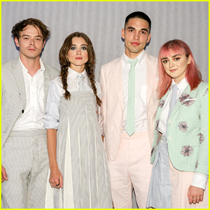 Natalia Dyer, Charlie Heaton & Maisie Williams Attend Thom Browne Dinner