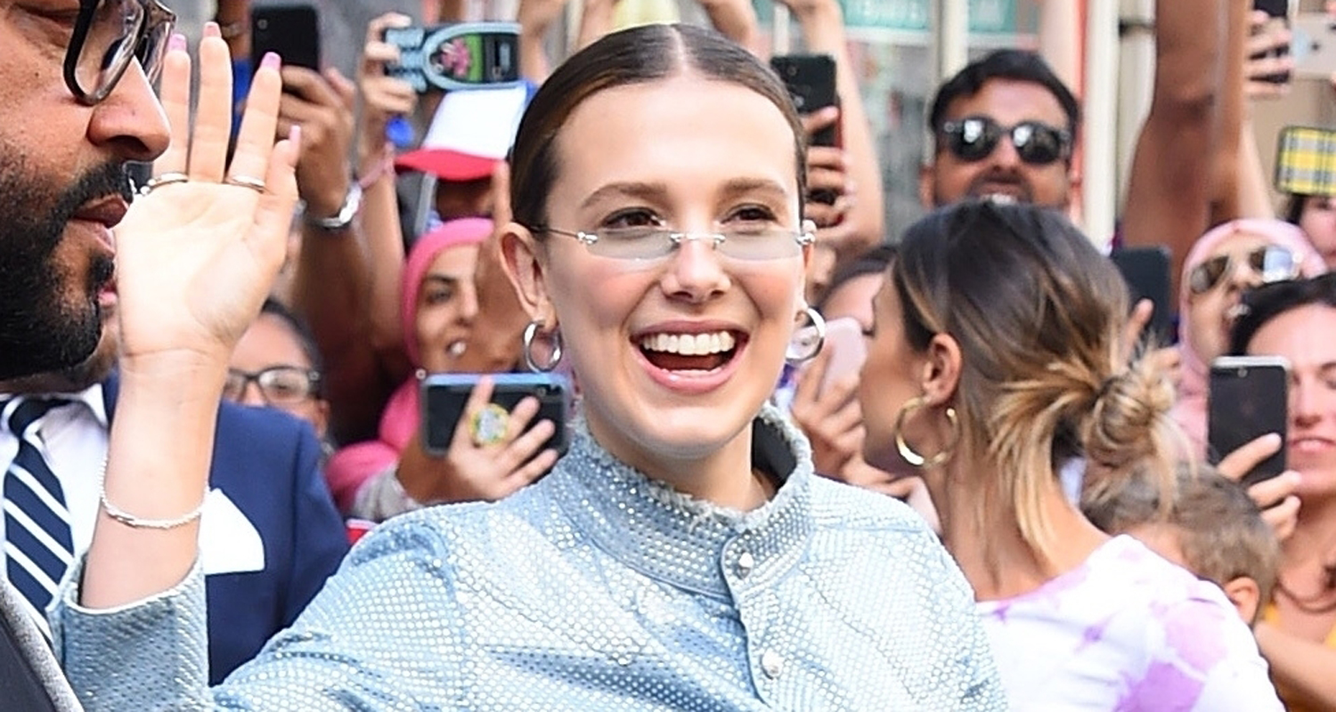 Millie Bobby Brown Meets Fans at Florence By Mills Pop Up Shop In NYC