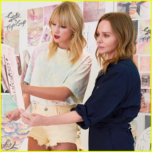 Taylor Swift Reveals Limited Edition Merch Collab With Stella McCartney