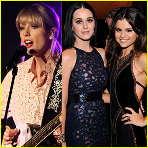 Taylor Swift, Selena Gomez, & Katy Perry Might Be Collaborating on a New Song!