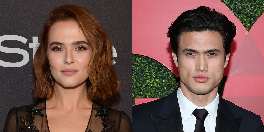 Breaking News – Zoey Deutch Fixes Her Nail After Charles Melton Broke It!