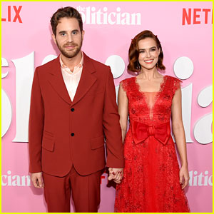 Ben Platt & Zoey Deutch Are Matchy-Matchy at 'Politician' Premiere!