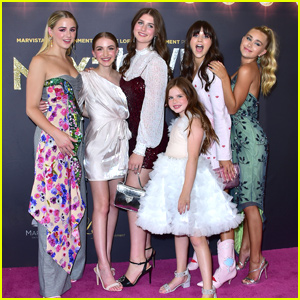 Chloe Lukasiak, Lauren Orlando & Emily Skinner Step Out For 'Next Level' Premiere