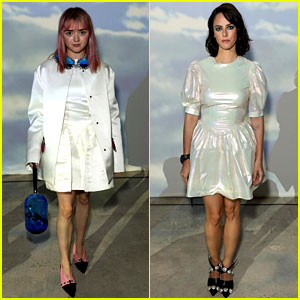 Maisie Williams Continues to Rule Fashion Week!