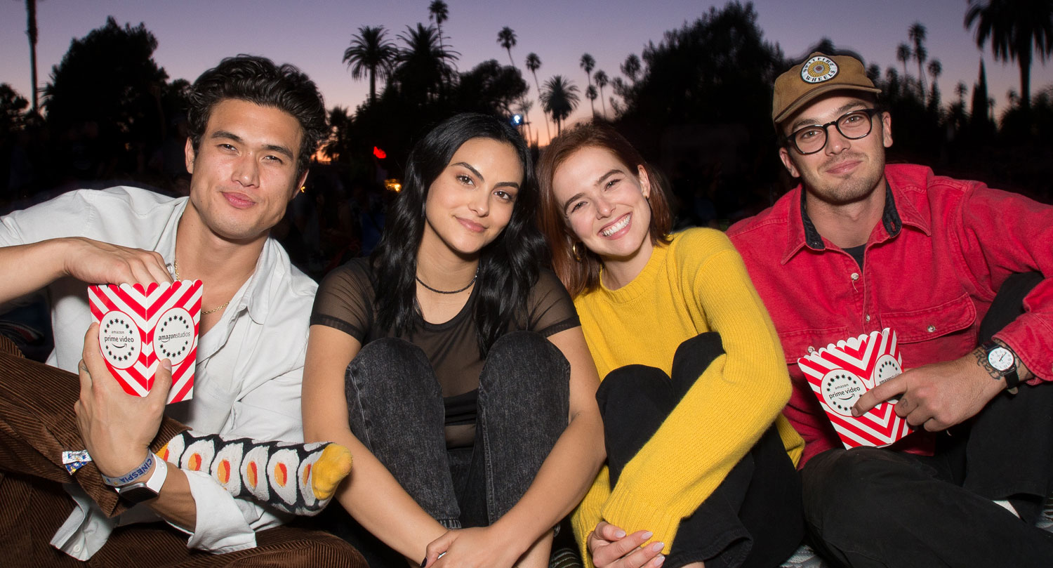 Zoey Deutch & Charles Melton Went On a Double Date