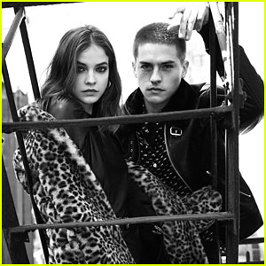 Dylan Sprouse Stars in The Kooples Campaign with Girlfriend Barbara Palvin!