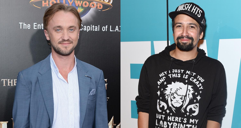 Tom Felton & Lin-Manuel Miranda Bond Over 'Hamilton' & 'Harry Potter'