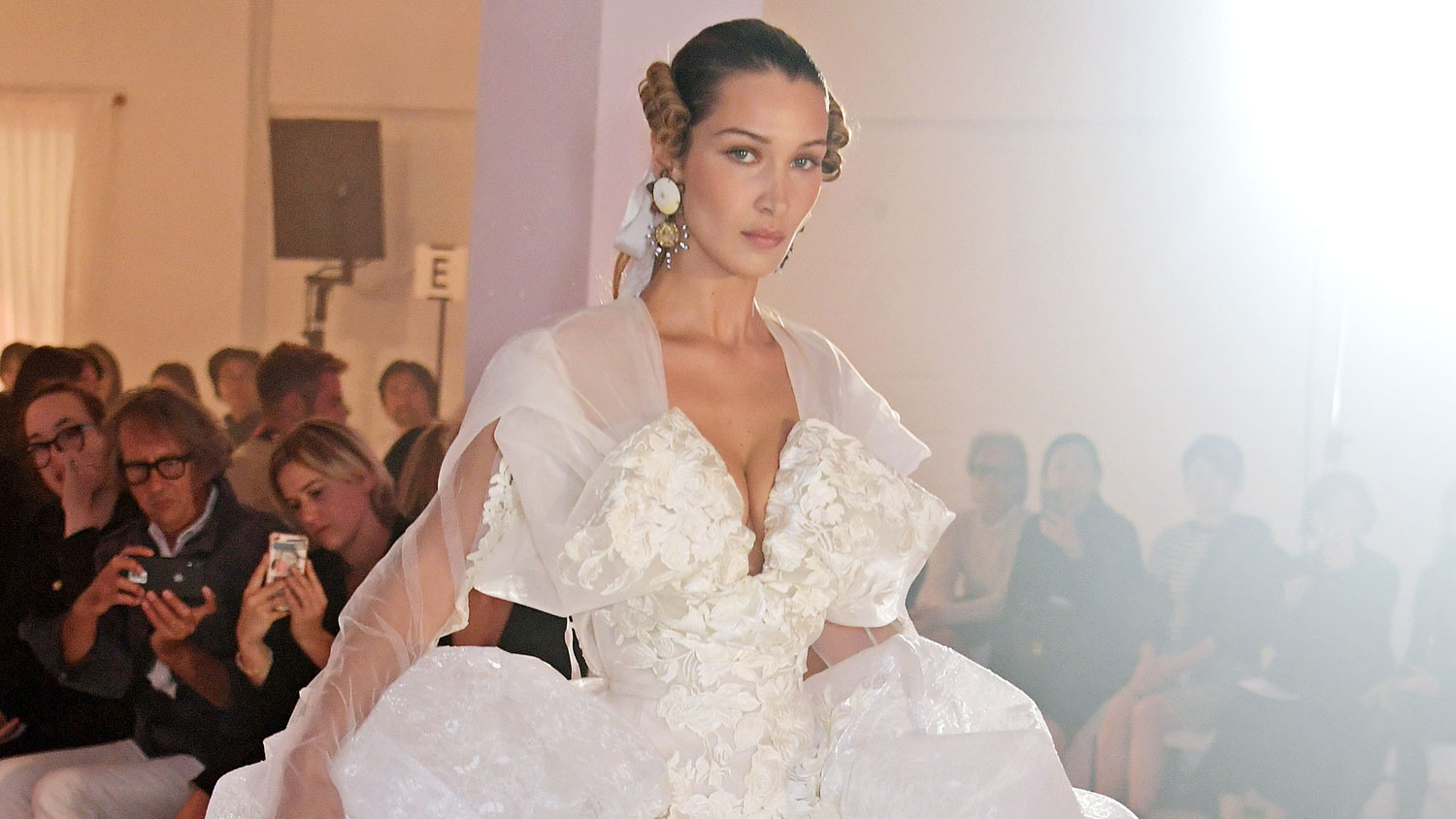 Bella Hadid Just Wore the Dress She Wants to Wear to Her Wedding
