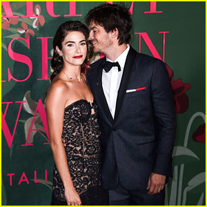 Nikki Reed & Ian Somerhalder Wear Eco-Friendly Designs at Fashion Event in Italy