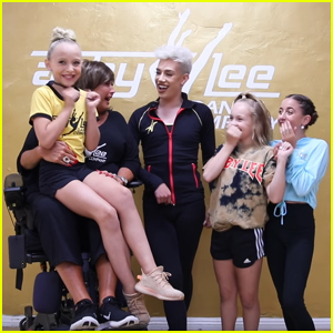 James Charles Gets a Dance Lesson From 'Dance Mom's Abby Lee Miller - Watch!