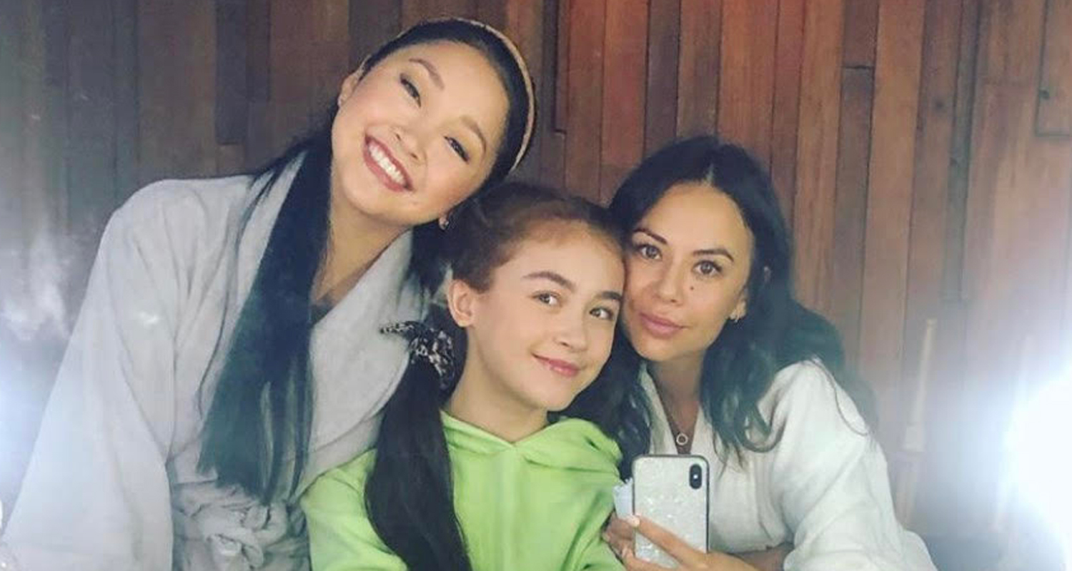 Janel Parrish Wraps 'To All The Boys 3′, Shares BTS Pics With Lana Condor & Anna Cathcart