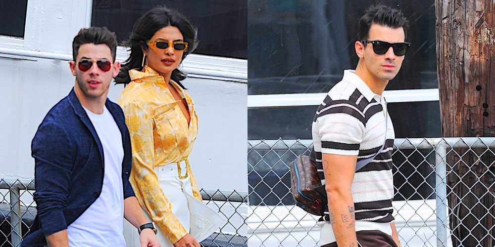 Joe Jonas Flies Away for Labor Day with Nick & Priyanka