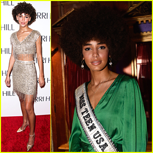 Miss Teen USA 2019 Kaliegh Harris Steals The Spotlight at New York Fashion Week