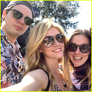 Katherine McNamara Reunites With 'Shadowhunters' Co-Stars For Sunday Brunch