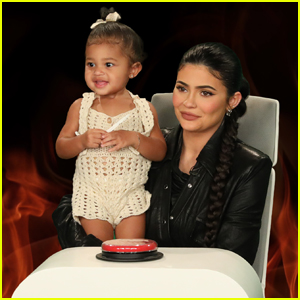Kylie Jenner's Daughter Stormi Makes Her First 'Ellen' Appearance - Watch!