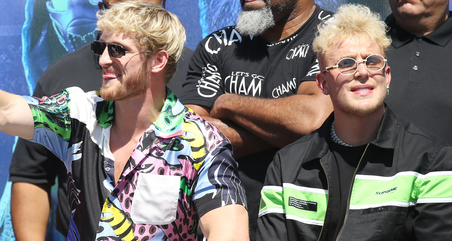 Logan Paul Gets Support From Brother Jake Ahead of Boxing Match