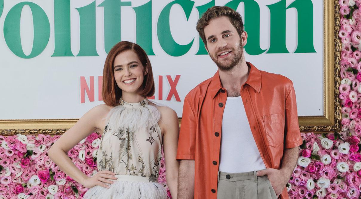 Ben Platt & Zoey Deutch Travel to Brazil to Promote 'The Politician'