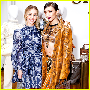 Euphoria's Sydney Sweeney Goes For a Romantic Look at Shopbop's 20th Anniversary Event with Rowan Blanchard