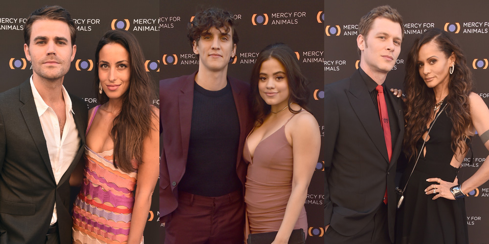 Sarah Jeffery 'Charms' Us at Mercy For Animals 20th Anniversary Gala with Nick Hargrove