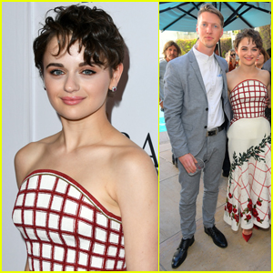 Joey King Cozies Up to Boyfriend Steven Piet at Pre-Emmys Party!