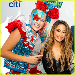 Ally Brooke & JoJo Siwa Take the Stage at T.J. Martell Family Day In Los Angeles!