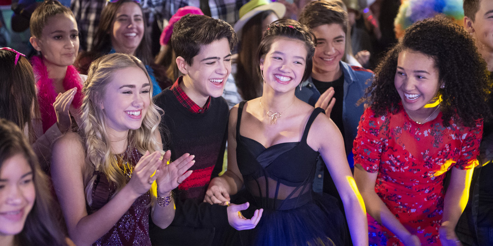The 'Andi Mack' Cast Had Two Big Reunions This Weekend!