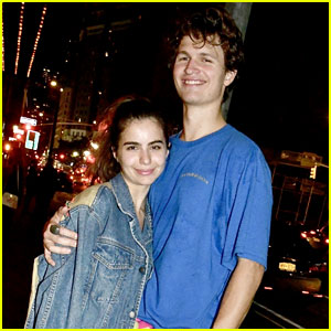 Ansel Elgort & Girlfriend Violetta Komyshan Are Clearly Still Very Much in Love
