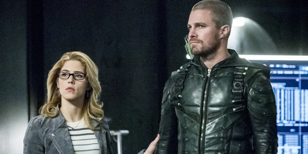 Felicity Is Mentioned In A Major Way During 'Arrow's Final Season Premiere Tonight