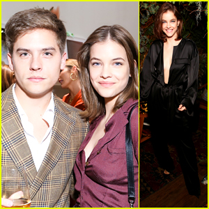 Barbara Palvin Keeps It Super Chic at Two Fashion Events in NYC With Dylan Sprouse