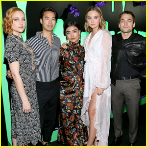 Brianne Tju &  'Light as a Feather' Cast Kick Off Halloween at Huluween Party