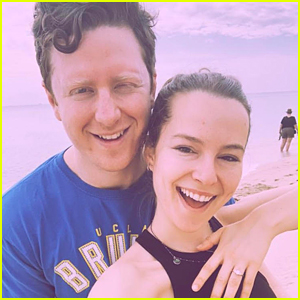 Bridgit Mendler & New Husband Griffin Cleverly Share Beautiful Photos From Wedding!