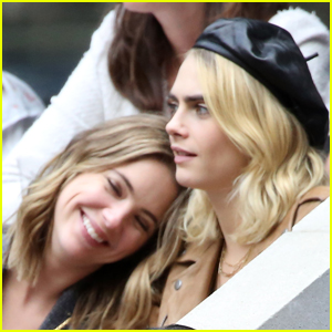 Cara Delevingne Praises Girlfriend Ashley Benson: 'I'm the Luckiest Girl in the World'