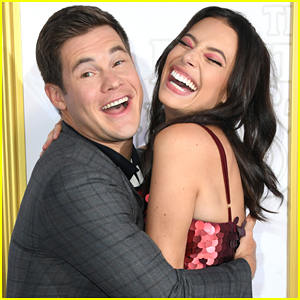 Chloe Bridges Is Engaged To Adam Devine - See Her Ring!