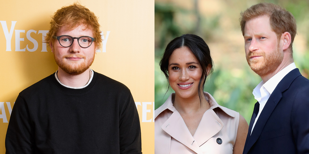 Ed Sheeran To Give Fans Inside Look at Duke & Duchess of Sussex's Home For World Mental Health Day