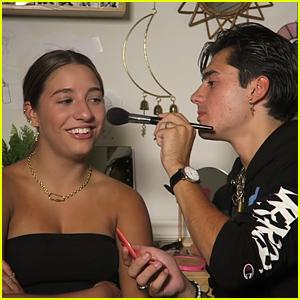 Isaak Presley Does Girlfriend Kenzie Ziegler's Makeup In New Video