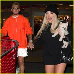 Jake Paul & Tana Mongeau Couple Up For Shopping Trip to Target