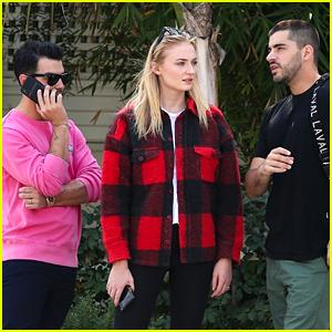 Joe Jonas Hangs Out with Sophie Turner Ahead of San Diego Show